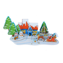 Puzzle 3D joyeux Noël