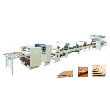 3 Ply, 5 Ply, 7ply Linha de produção de papelão ondulado (linha de montagem)
