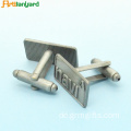 Customized Gravierte Gold Metall Manschettenknöpfe