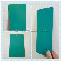Blue-Green Orange-Peel Finish Decorative Powder Paint