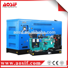 AOSIF 3 phase 50kva quiet portable generator with Cummins engine