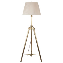 Classic Adjustable Standing Light with Fabric Shade (SL82195-1F)
