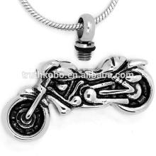 Bijoux populaires de crémation de style de moto de vente aux cendres de souvenir pour les hommes frais