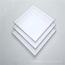 Painel sólido transparente de policarbonato de portas internas de plástico