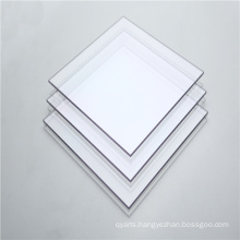 Plastic interior doors polycarbonate solid clear panel