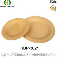 2016 Hot Sales Biodegradável De Fibra De Bambu Descartável Placa (HDP-3021)