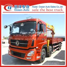 8 * 4 Dongfeng 25 ton caminhão guindaste, caminhão montado guindaste para venda