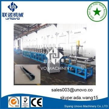 machine de laminage de canal de contrefiche automatique C sur mesure
