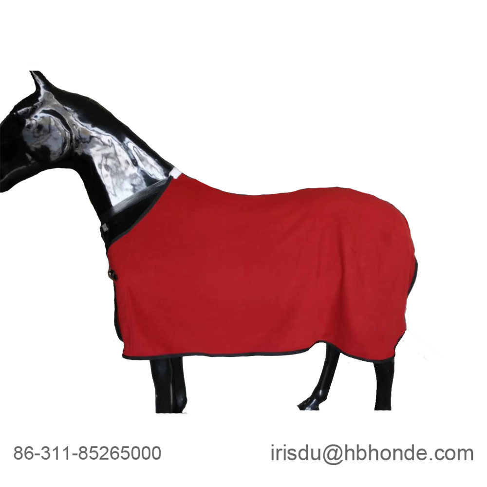 polar fleece horse rug