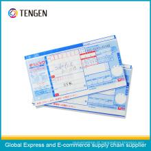 Waterproof NCR Paper Logistics Air Waybill