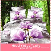 3d 100% cotton home textile duvet cover set