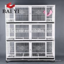 2 niveaux et 3 niveaux pliant la cage de chat de la vraie usine