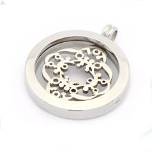 Cheap silver coin locket pendant,coin pendants for necklaces
