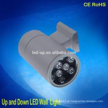 Preço agradável acima para baixo luz conduzida IP65 impermeável lâmpada de parede ao ar livre levou