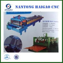 Machine de fabrication d'acier inox