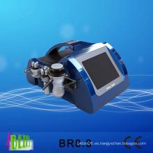 Multipolar RF cavitación del sistema de cuidado de la piel de resurfacing máquina