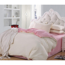 New Collection Bed Modern Style Bed Plain White Hotel/Home Bedding Set (WS-2016276)