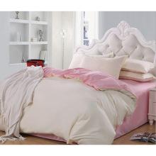 Новая коллекция Кровать Современная кровать Bed Plain White Hotel / Home Комплект постельного белья (WS-2016047)