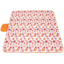 Tapis de pique-nique mat de plage pliable tapis lumineux coloré sans sable