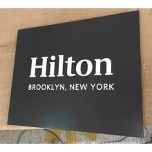Pop Wholesales Hotel or Bank Reception Metal Plaque