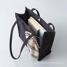 Promotional Durable Cotton Shopping Bag Canvas Beach Handbag Casual Women Shoulder Tote Bag