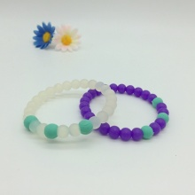 Hot Fashion Silicone Bead Bracelet