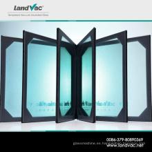 Landvac Ahorro de energía insonorizada con aislamiento de vacío E vidrio bajo para ventana