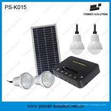 Luz recarregável da casa das energias solares portáteis com carregamento do telefone (PS-K015)