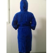 100% хлопок-велюровый махровый халат