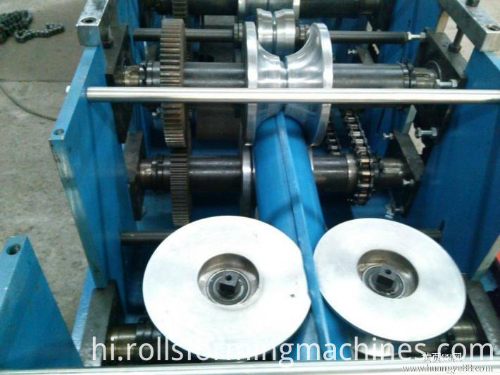 gutter downpipe roll forming machine