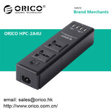 ORICO HPC-2A4U 2-Outlet Home Surge Protector with 4port usb charger port
