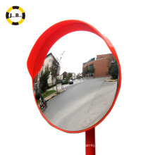 tráfico de seguridad vial lente de PC al aire libre espejo convexo precio barato evitar accidente de tráfico