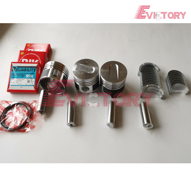 S3L piston + ring + bearing