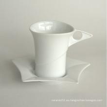 Taza de café de porcelana conjunto (10CD13765)
