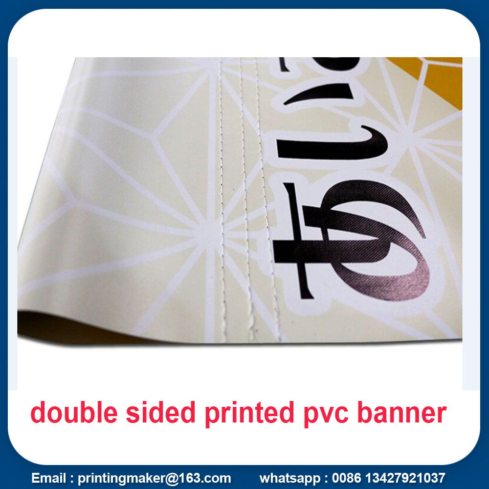 pvc banner with pole pocket