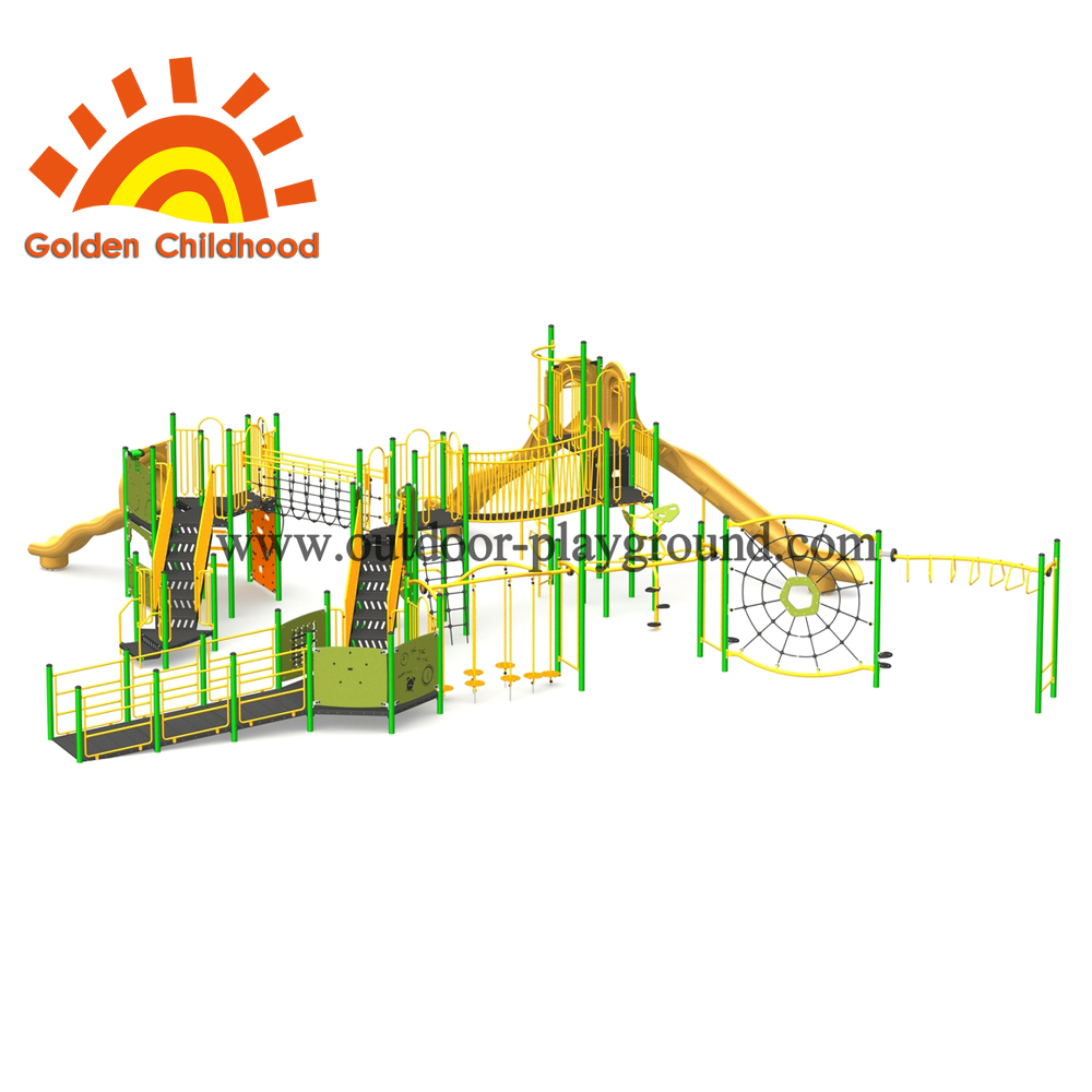 Green Multiplay Outdoor Play Game For Children