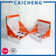boîte de papier ondulé avec diviseur à l'intérieur