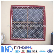 galvanized beautiful grid mesh