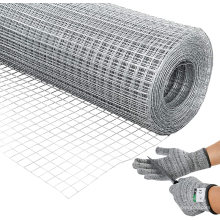 1/4 inch 1/2inch hot galvanized welded iron wire mesh for fencing