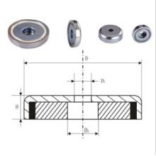 Female Thread Pot Magnet (UNI-Pot-io9)