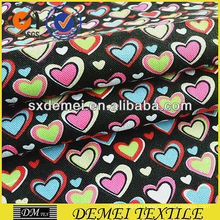 heart print fabric 100 cotton for sofa pillow
