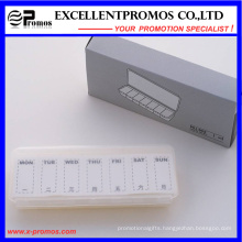 Simple Style Weekly Pillbox for Promotion (EP-017)