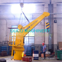 Simple Structure Electro Fixed Boom Marine Cranes