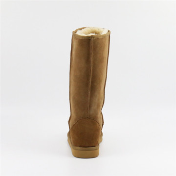 Wear Resistant Leather Women's Boots