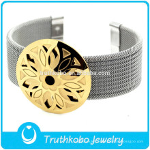 F-B0221 réglable Bijoux Bracelet Pour Femmes Femmes Or Accessoire Argent Manchette Ceinture Bracelet
