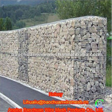 Silver rock protection Gabions temporary fencing with high quality and competitive price in store