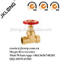J1006 Válvula de compuerta de latón