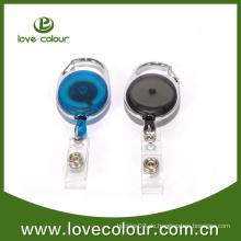 Bester verkaufender einziehbarer yoyo Abzeichenrolle mit kundenspezifischem Aufkleber