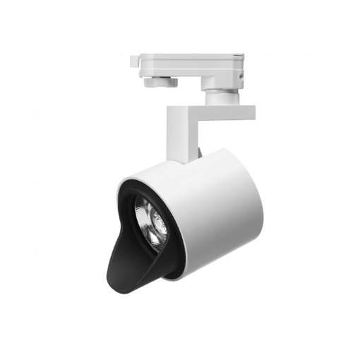 White Commercial 20W LED Track Light