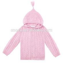 15STC6716 pure cashmere children coat